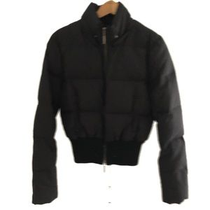 Vince. Black Puffer Jacket